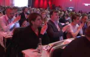 FØLG LANDSMØTET LIVE: På Sosialdemokraten.no kan du følge landsmøtet live, både i bilder, i lyd og i tekst fra landsmøtedelegatene selv (via Twitter).