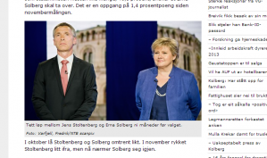 Etter sju år sammenhengende som Norges statsminister, er Jens Stoltenberg fortsatt velgernes favoritt. I en ny måling sier 42,5 % at de ønsker at Jens Stoltenberg skal fortsette som statsminister etter valget i 2013.