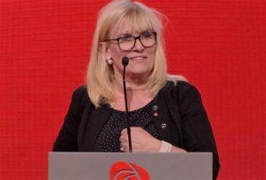Kari-Anne Opsal (bildet) fra Harstad er en av flere ordførerkandidater som kan glede seg over gode lokalmålinger for Arbeiderpartiet i april. Mange steder ligger Arbeiderpartiet nå nær det gode valgresultatet fra 2015, eller til og med litt foran.
