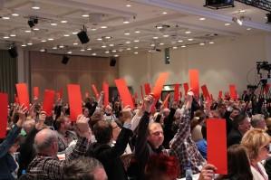 Her legger vi fortløpende ut vedtak fra Ap-landsmøtet etterhvert som de skjer.