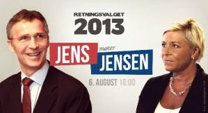 Det er klart for høstens første partilederduell. 6. august klokka 16.00 braker det løs med Jens Stoltenberg mot Siv Jensen. Du ser duellen live på Sosialdemokraten.no!