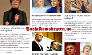 Sosialdemokraten.no hadde 9.252 lesere i fjerde kvartal 2012.