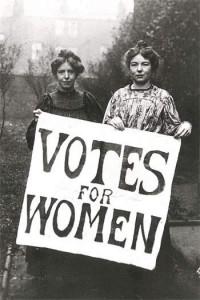 Kvinnelig stemmerett