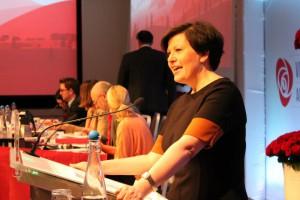 TAR IKKE GJENVALG: Helga Pedersen (41) har bestemt seg for å ikke ta gjenvalg som nestleder i Arbeiderpartiet på landsmøtet til våren. Foto: Bjørn Jarle Røberg-Larsen