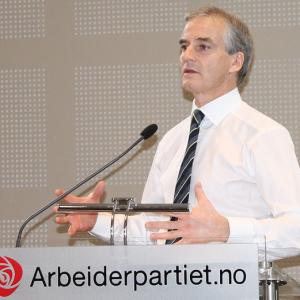 VOKSER: Arbeiderpartiet vokser med 2,4 prosentpoeng fra november til desember, viser ny gallup. Foto: Bjørn Jarle Røberg-Larsen