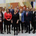 Terje Aasland, Eigil Knutsen og Lene Vågslid blir Aps komitéledere på Stortinget